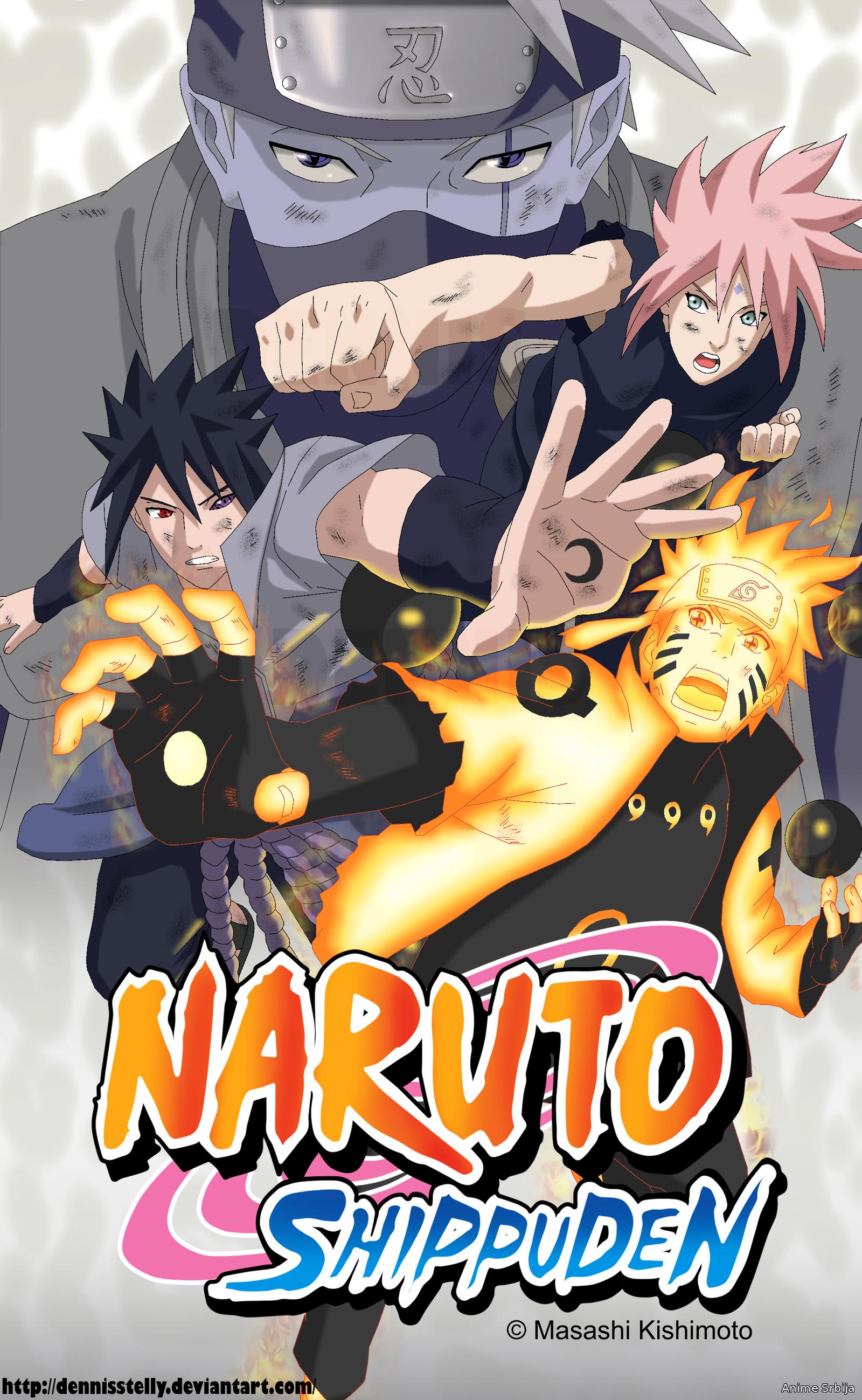 Naruto Shippuden Epizoda 500 - kraj anime serijala